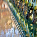 Footbridge in January 1