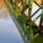 Footbridge in January 2