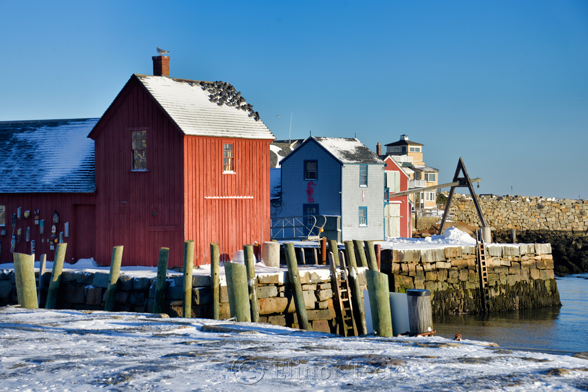 Motif #1 in February, Rockport MA 1
