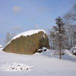 Squam Rock in February