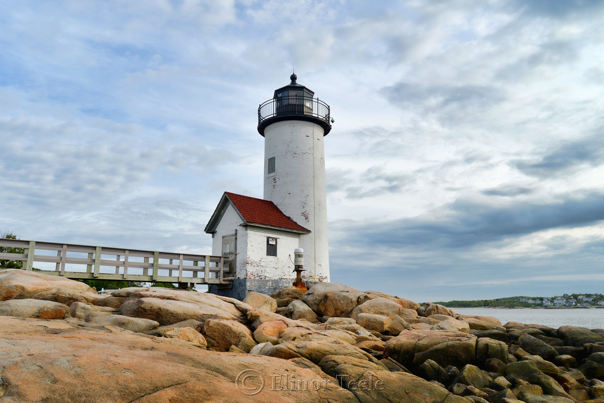 Lighthouse & Clouds 2