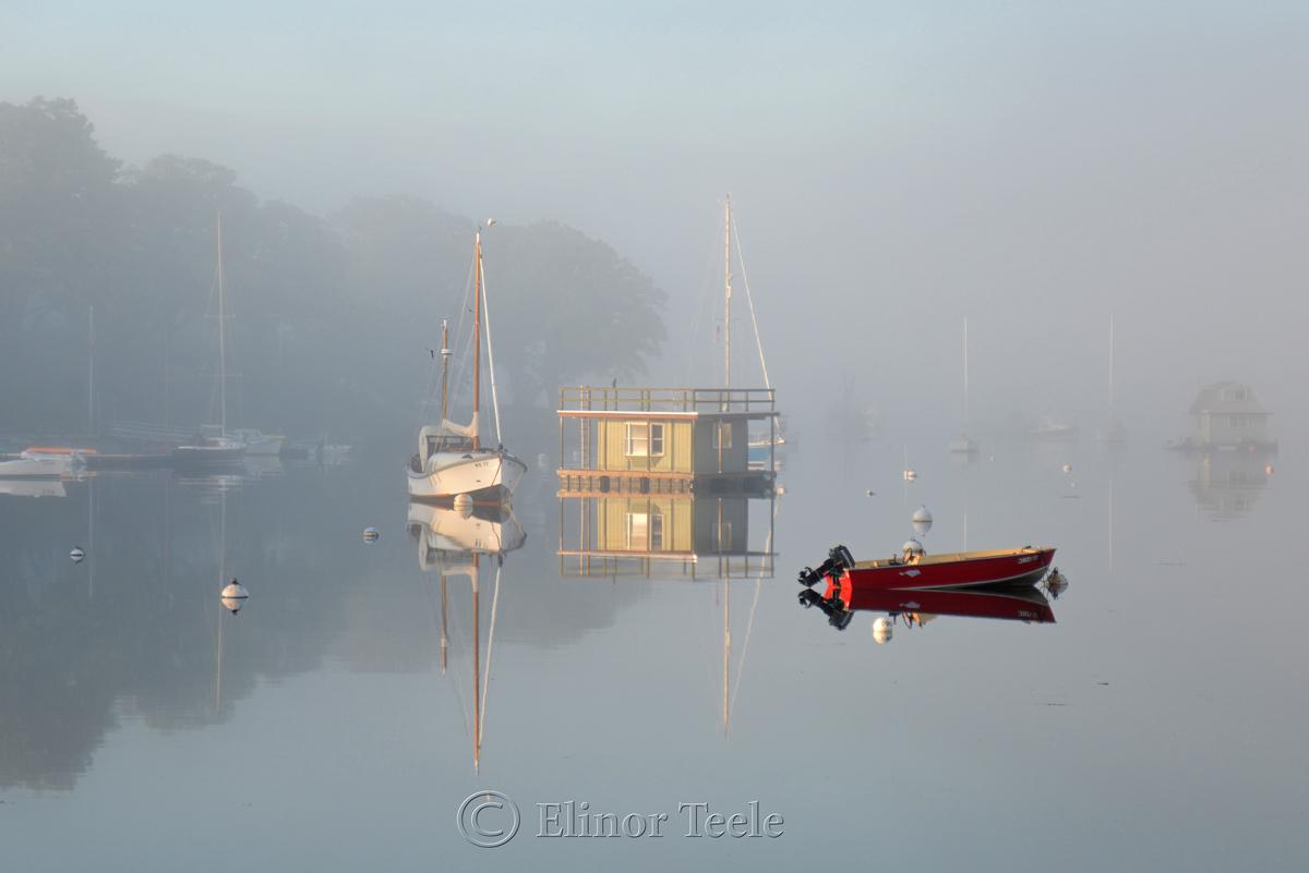 Fog on the Harbor 4