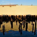 Wharf Reflections, Gloucester MA