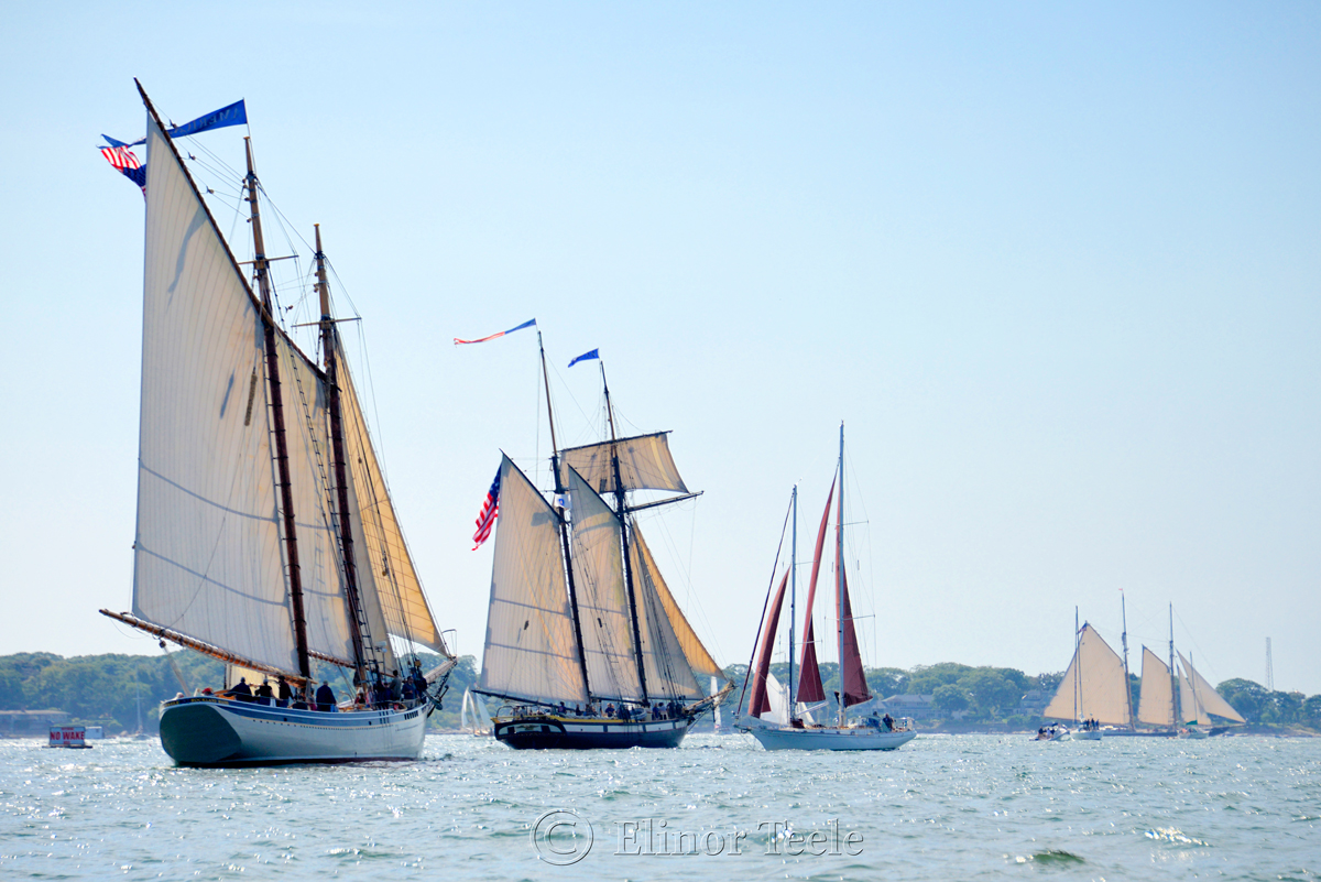Gloucester Schooner Festival 2017 - Heading Out 2
