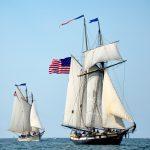 Gloucester Schooner Festival 2017 - Parade of Sail 2