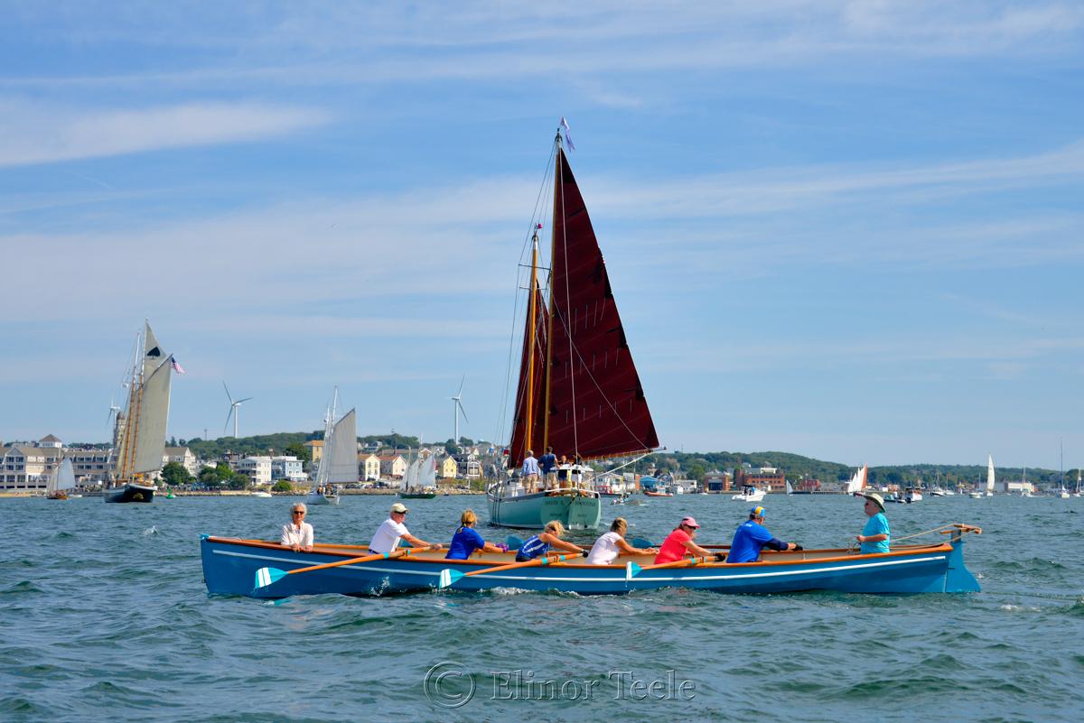 Gloucester Schooner Festival 2017 - Gig Rowers