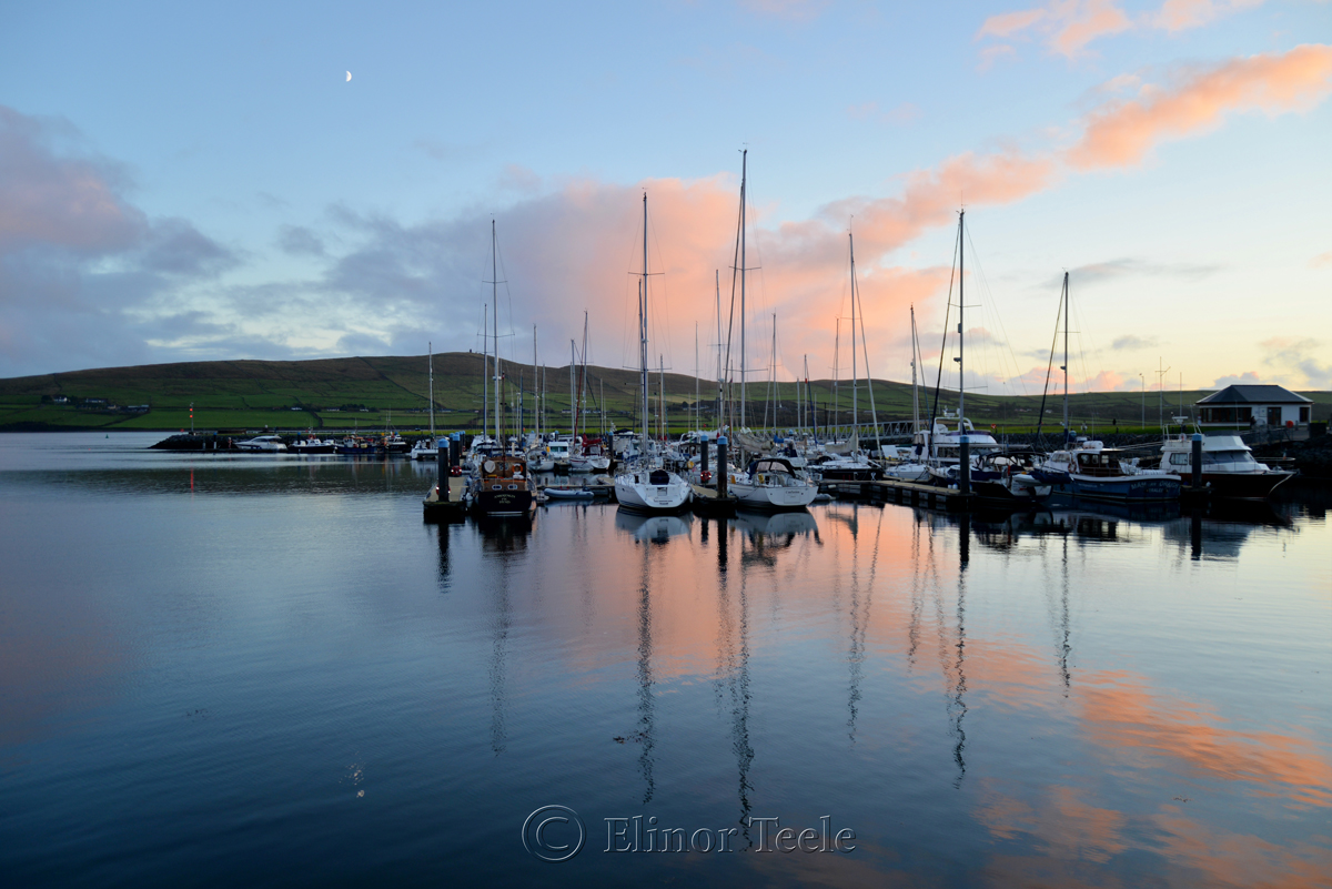 Dingle Harbor Sunset