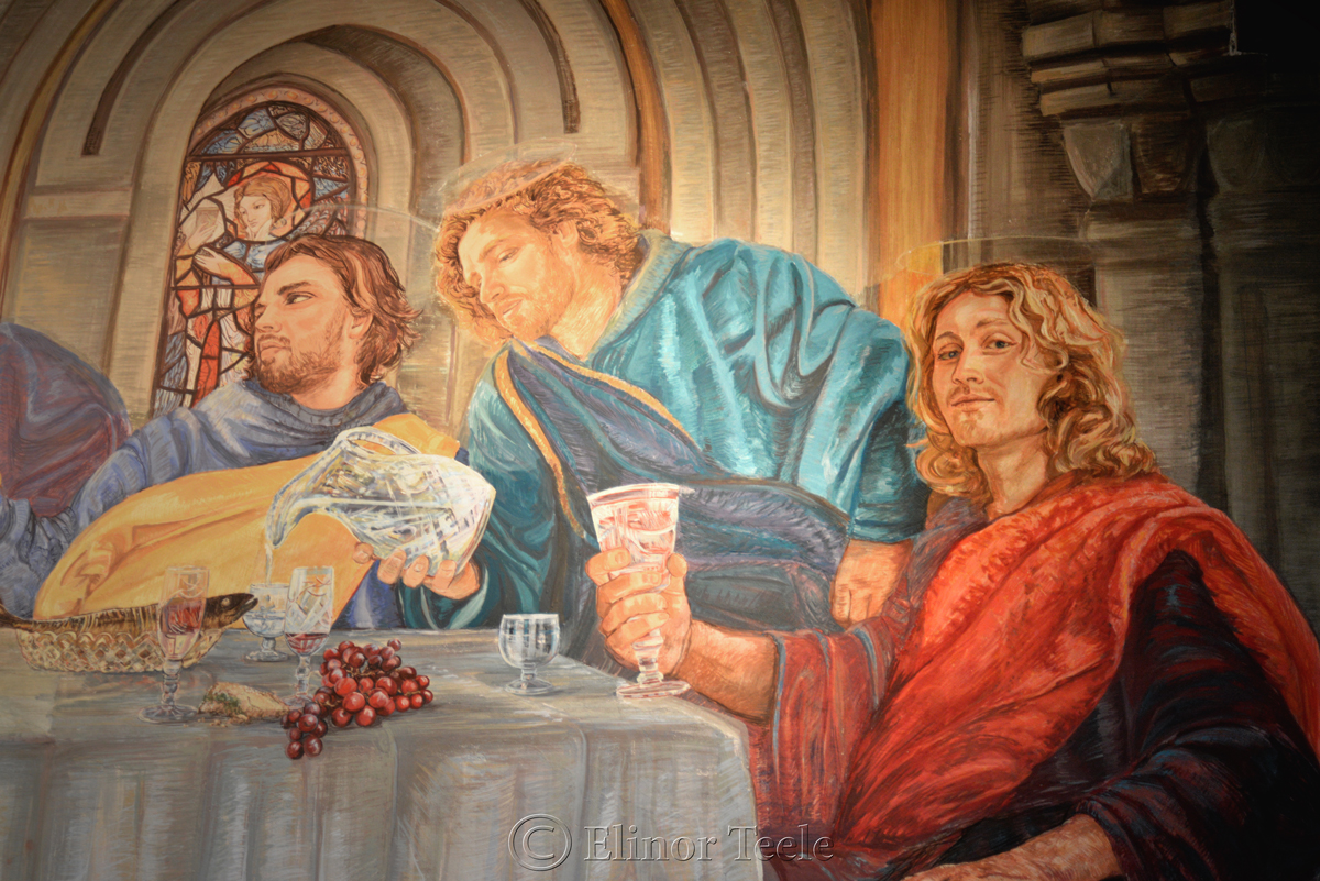 Doubting Thomas, Eleanor Yates Fresco