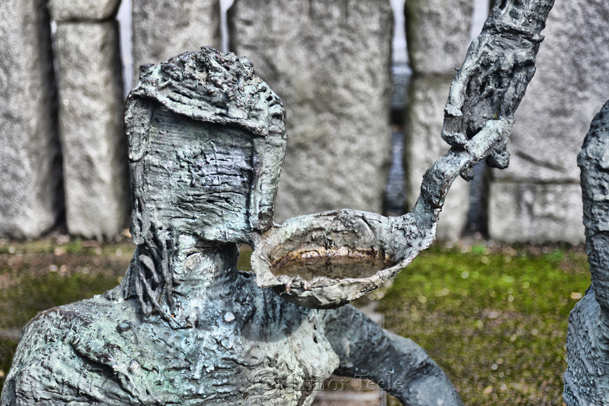 Famine Memorial, St. Stephen's Green 1