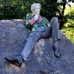 Oscar Wilde Statue, Merrion Square, Dublin 2