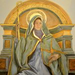St. Brigid, Eleanor Yates Mural