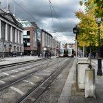 Trams, St. Stephen's Green, Dublin
