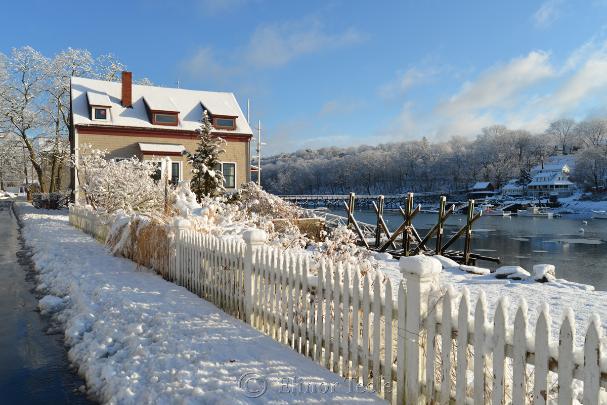Annisquam in the March Snows of 2018 - 11