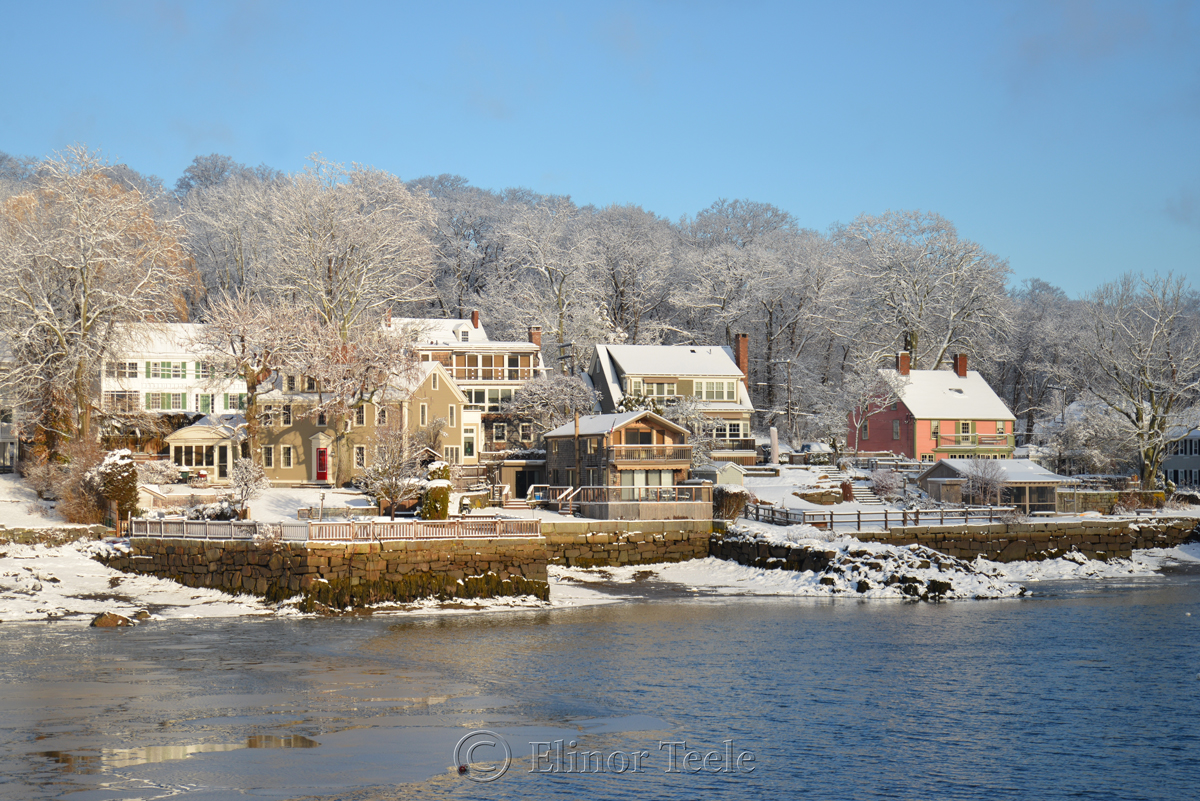 Annisquam in the March Snows of 2018 – 2