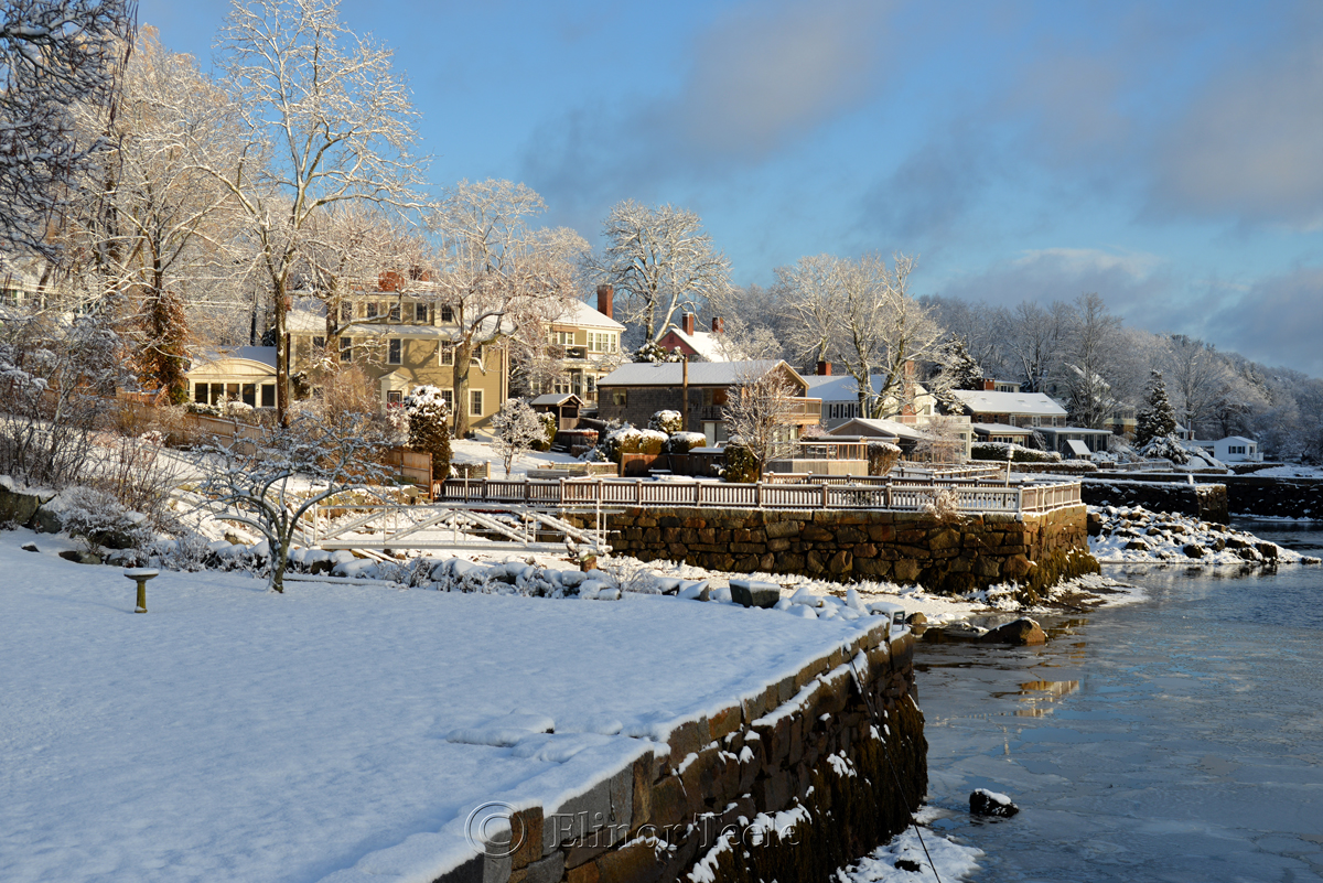 Annisquam in the March Snows of 2018 – 5