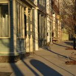 Washington Street in Lanesville, MA – Winter Light