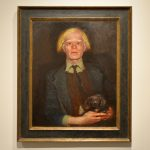 Andy Warhol by Jamie Wyeth, Cheekwood, Nashville