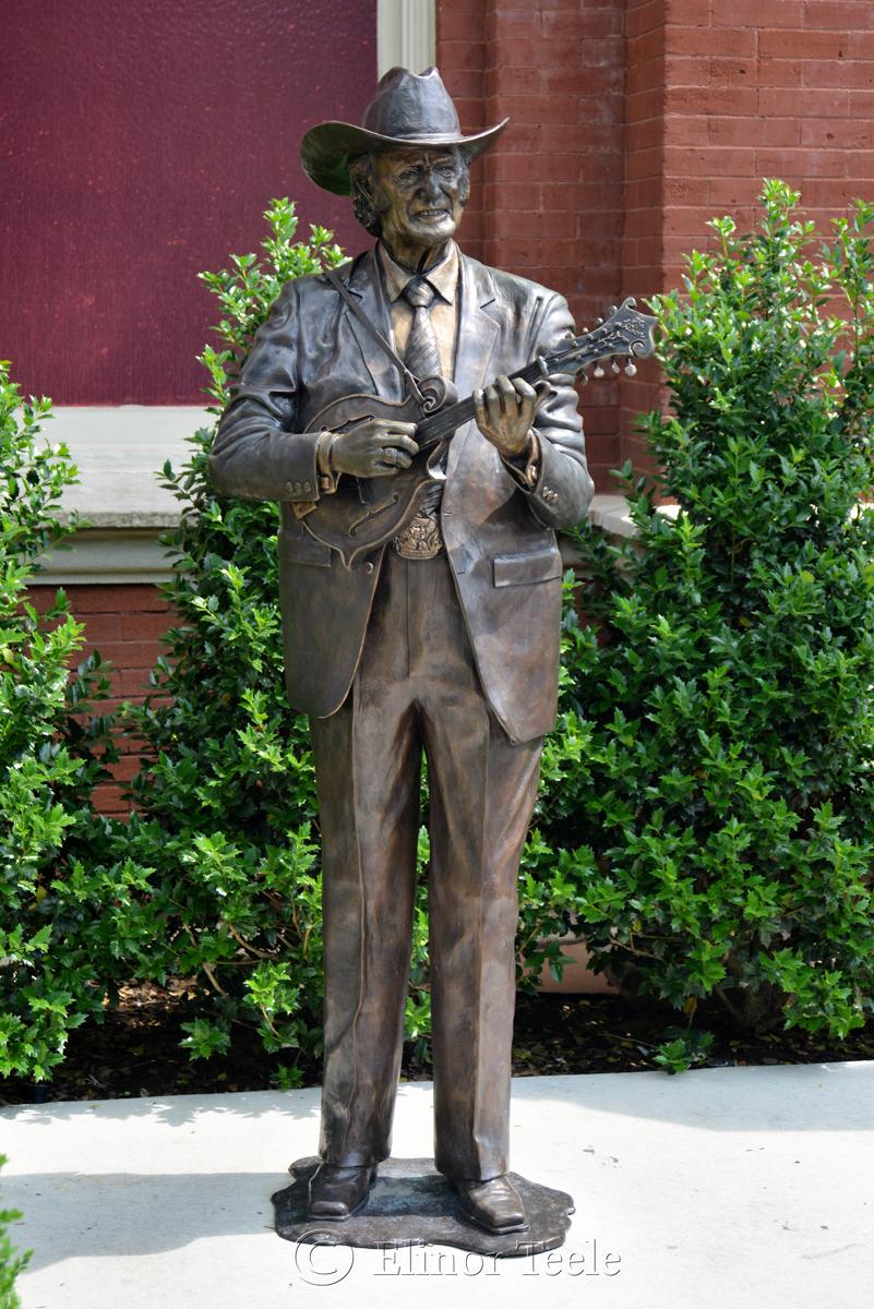 Bill Monroe Statue, Ryman Auditorium, Nashville