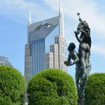 Birth of Apollo, Symphony Fountain, Nashville