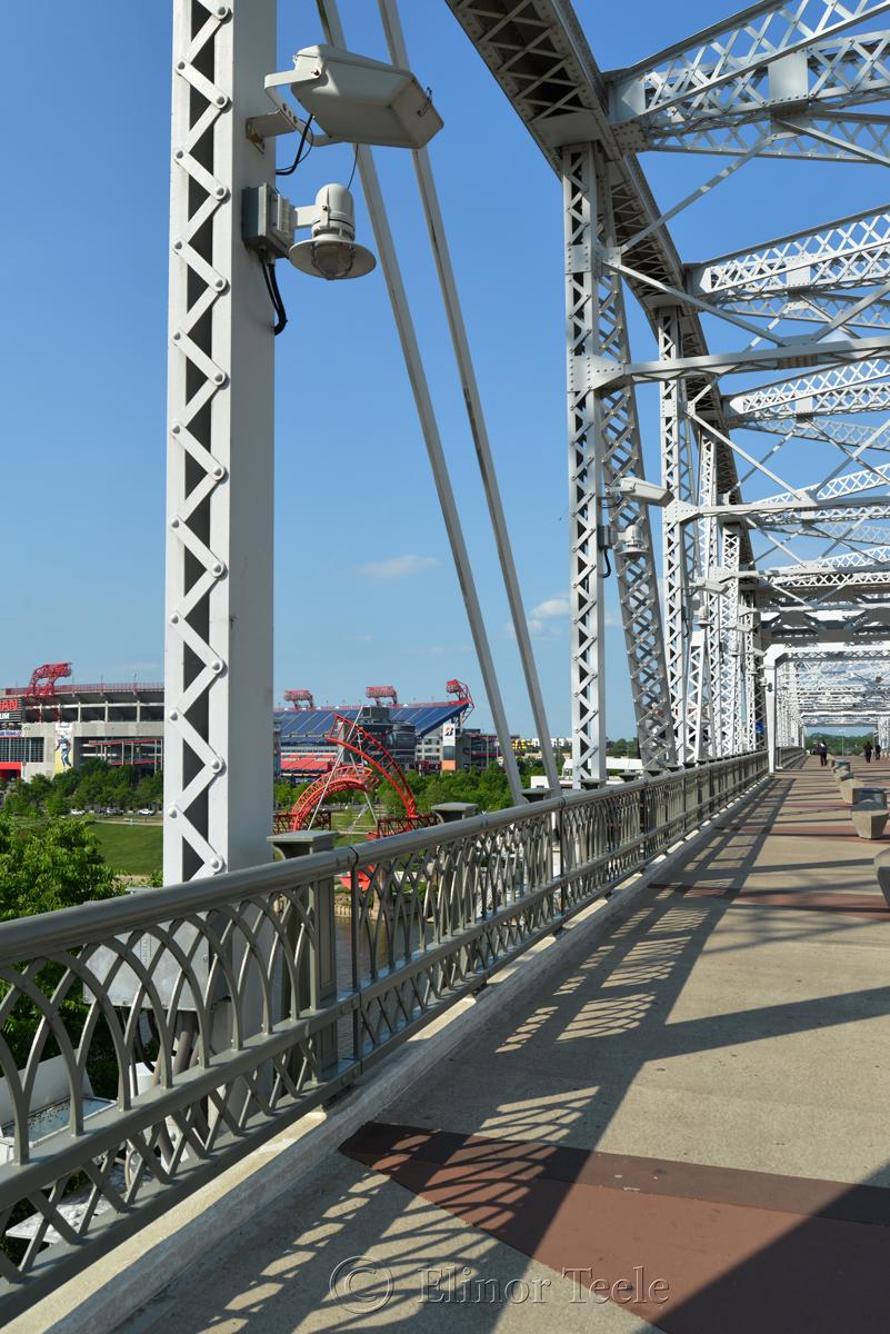 Cumberland Pedestrian Bridge, Nashville 2