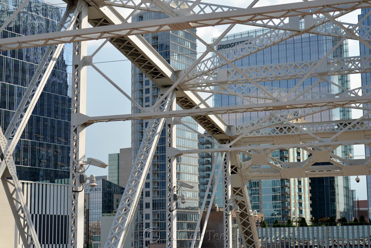 Cumberland Pedestrian Bridge, Nashville 4
