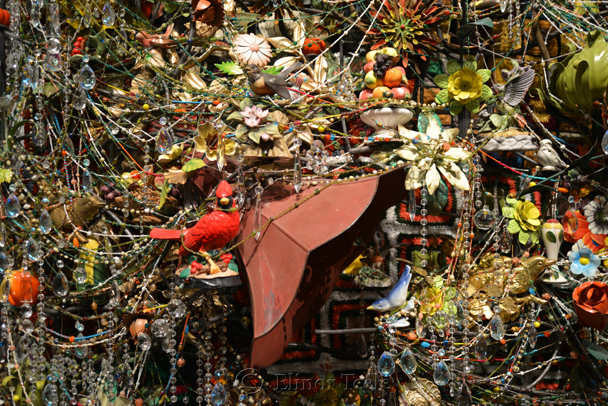 Wall Relief, Nick Cave, Frist Art Museum, Nashville 5