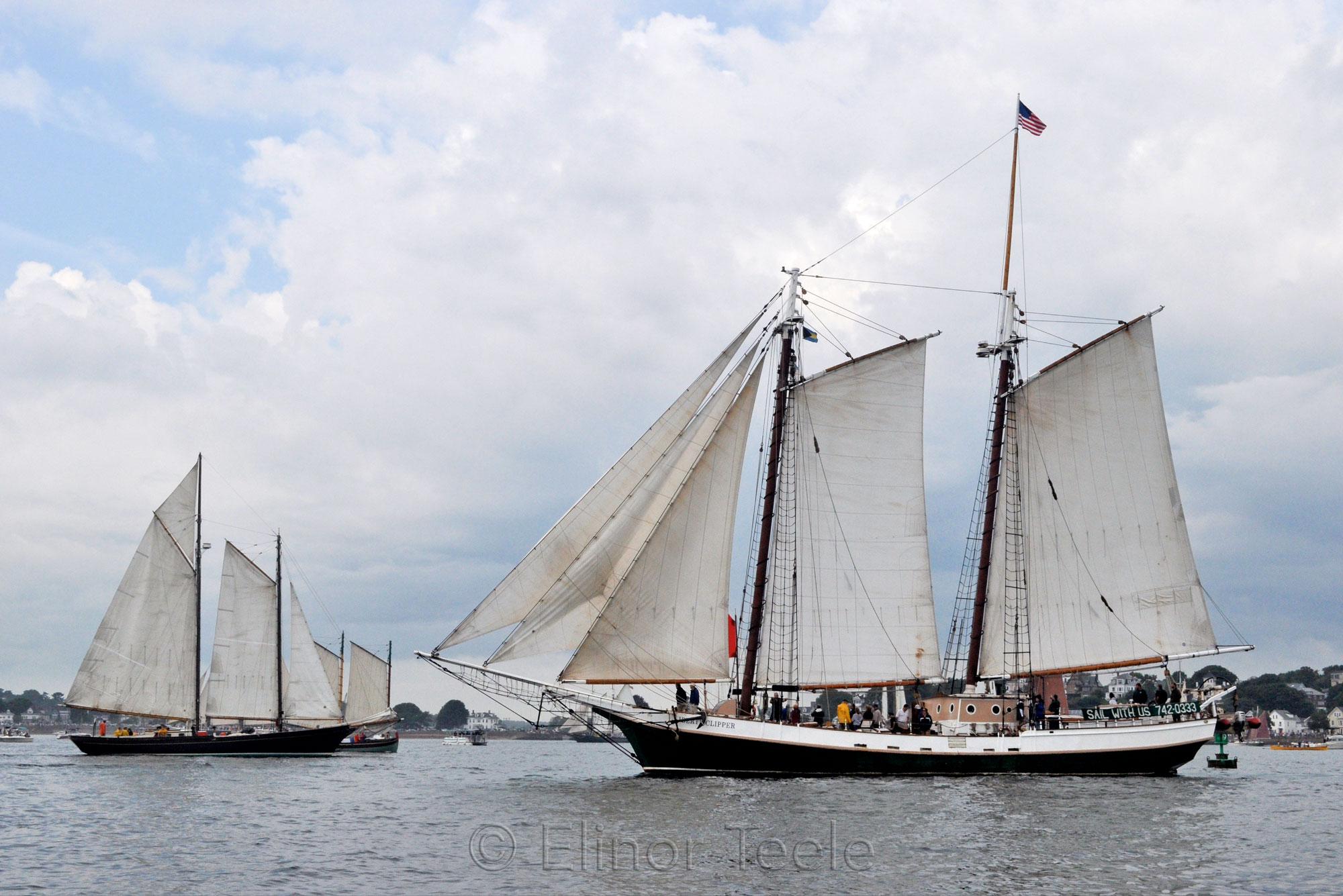 Schooner Festival Parade of Sail