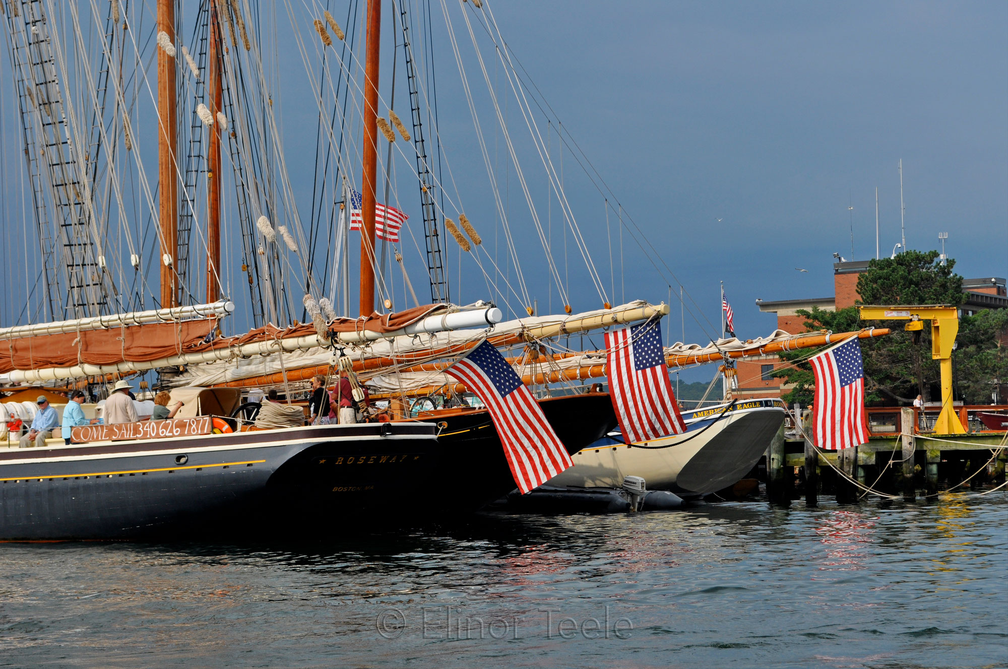 Schooner Festival 2013 Roseway and American Eagle