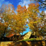 New England Fall Foliage - Cemetery 3