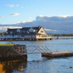 Annisquam Yacht Club in Autumn 2