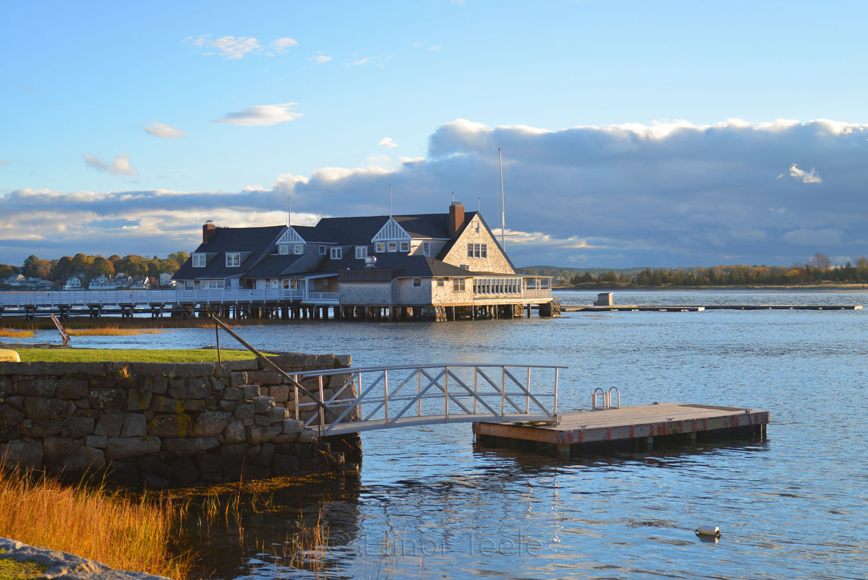 Annisquam Yacht Club in Autumn 2