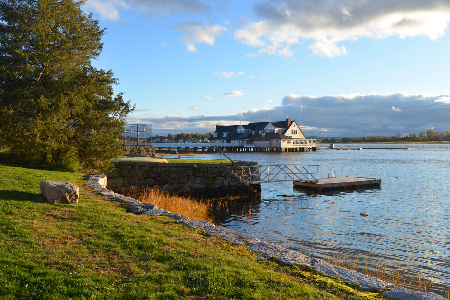 Annisquam Yacht Club in Autumn 1