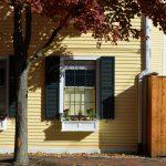 Autumn Window, Newburyport MA