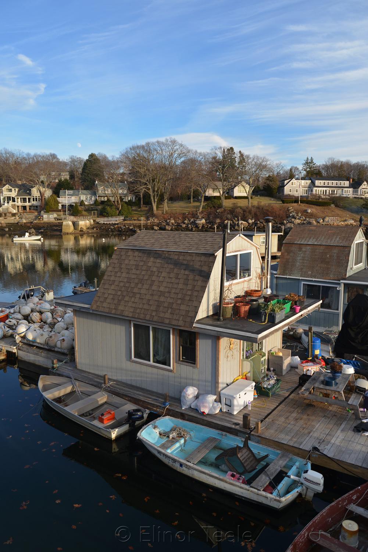 Houseboats, Annisquam Harbor