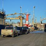 Jodrey State Fish Pier in Winter - Boats