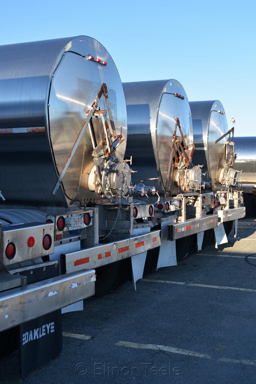 Jodrey State Fish Pier in Winter - Tank Trucks 3