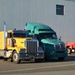 Jodrey State Fish Pier in Winter - Trucks
