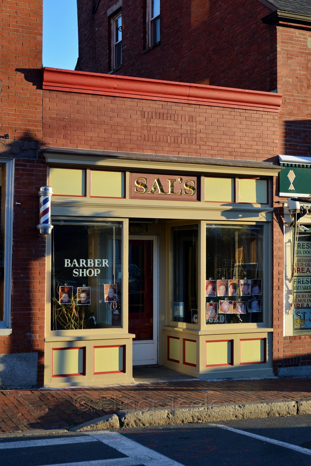 Gloucester Main Street - Sal's Barber Shop