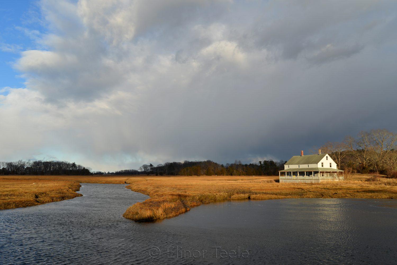 Mabel Burnham House (Motif #2) January Clouds, Essex MA