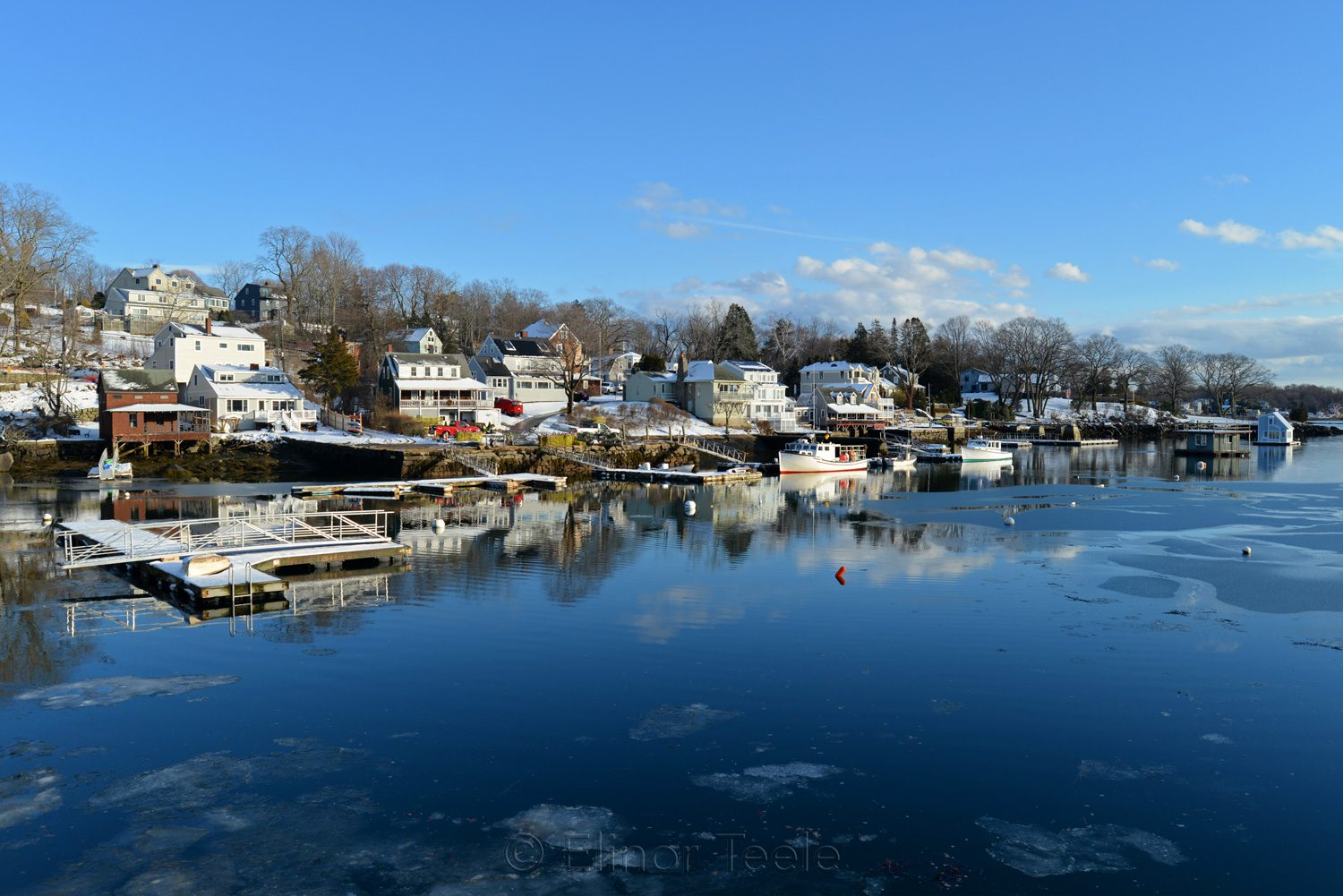 Annisquam Harbor in Melting Snows