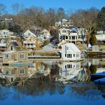Annisquam Harbor - Winter Reflections
