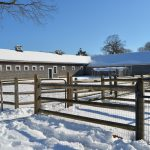 Farm Buildings in Winter - Appleton Farms