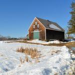 Jimmy's Barn in Winter - Appleton Farms
