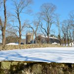 Milking Barn in Winter - Appleton Farms