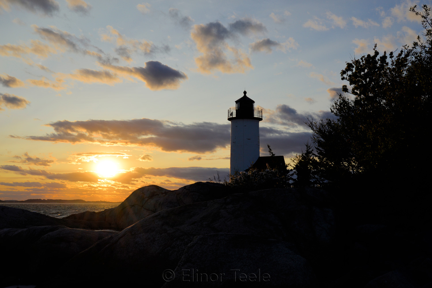 Lighthouse - May Sunset 1