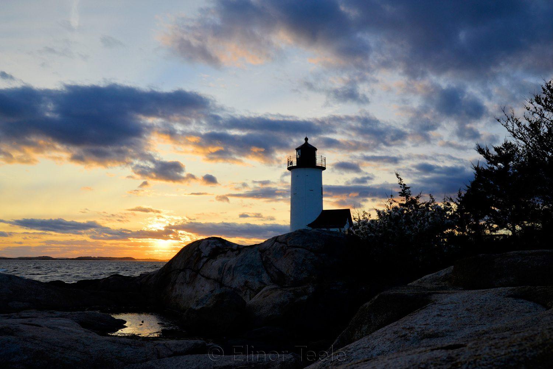 Lighthouse - May Sunset 2