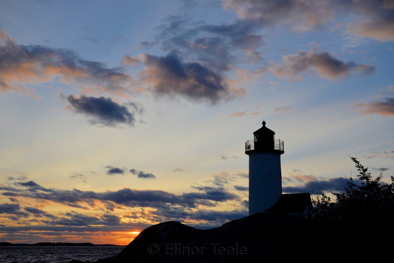 Lighthouse - May Sunset 3