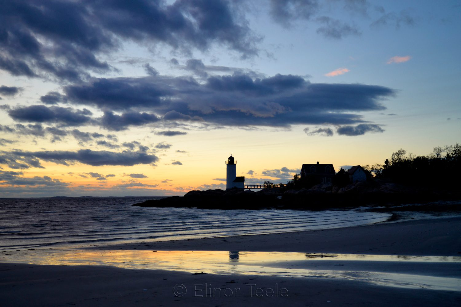 Lighthouse - May Sunset 4