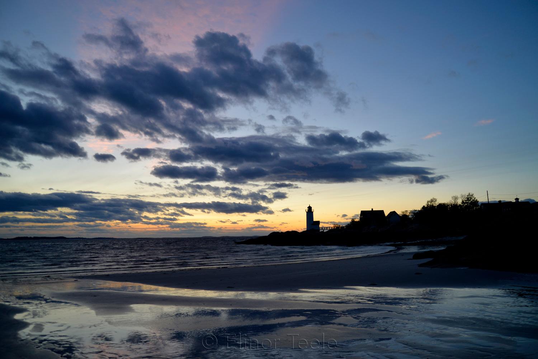 Lighthouse - May Sunset 5