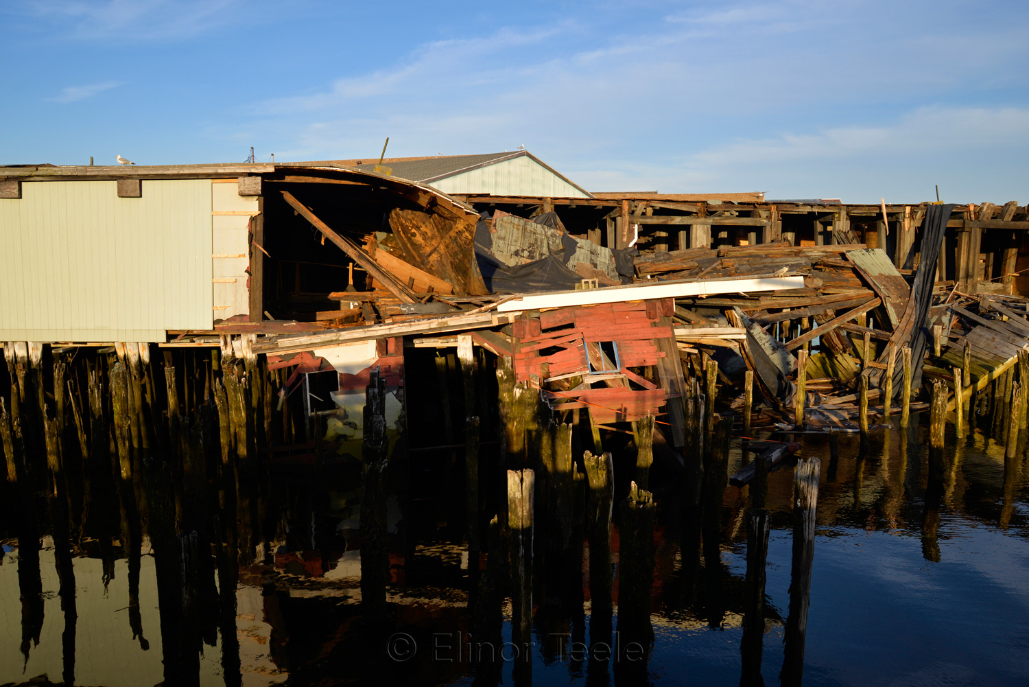 Gloucester Waterfront - Collapsed Warehouse 1